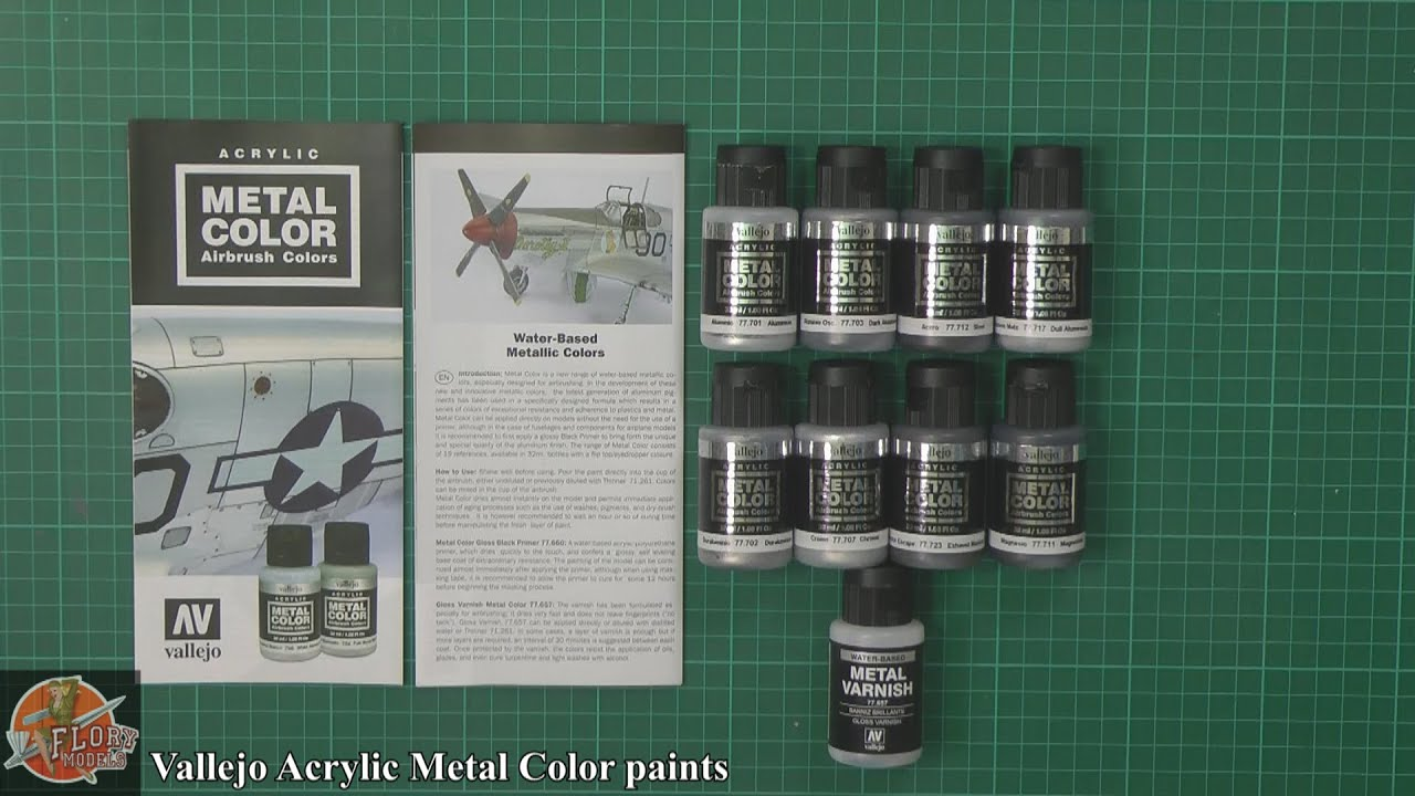 Liquid Metal Acrylic Paint