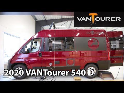 VANTourer 540 D 2020 Camper Van 5,40 M