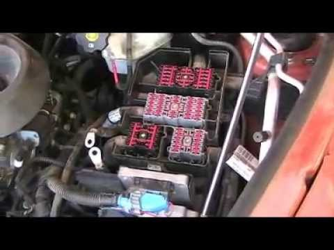 chevy hhr fuse box removal yardzoo