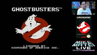 Ghostbusters (NES) Mike Matei Live