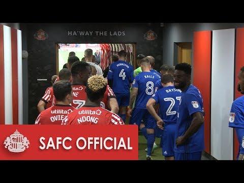 Behind the Scenes: Sunderland v Cardiff City