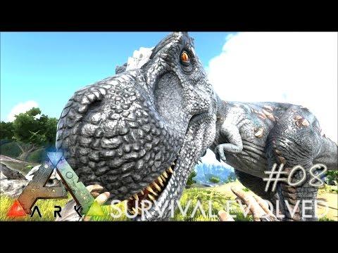 ARK: Survival Evolved - APEX HUNTERS & TREX TAMING !!! - [Ep 08] (Server Gameplay)