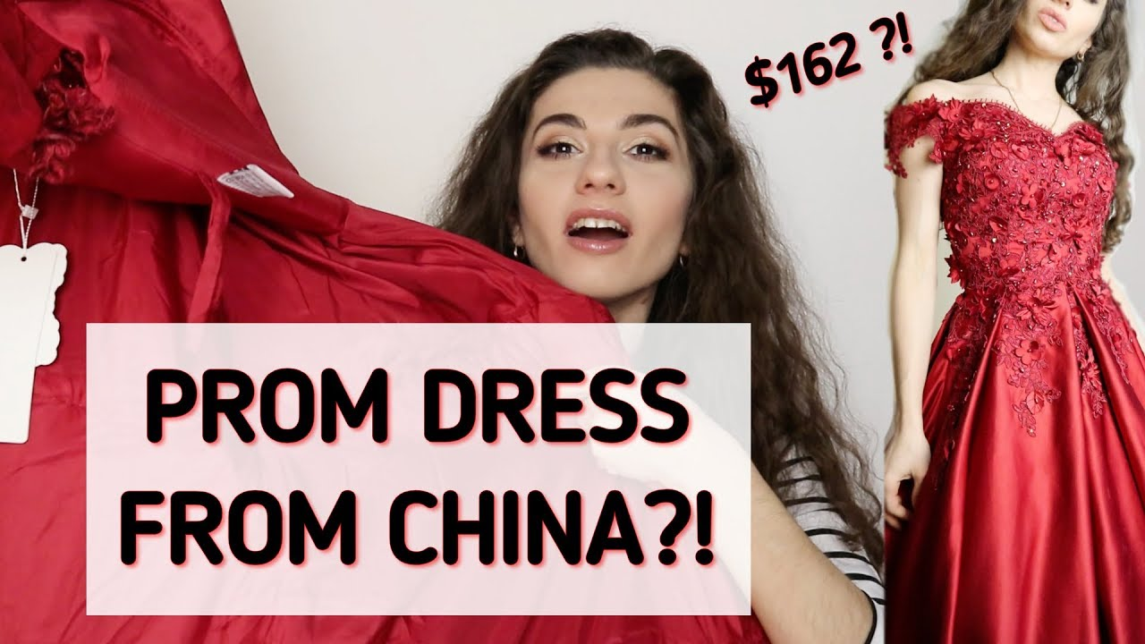 PROM DRESS for 162$?? | TRY ON HAUL | Hebeos review | Anetta - YouTube