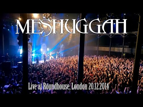 Meshuggah - Live at Roundhouse, London 20.12.2014