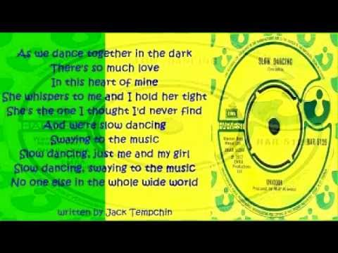Unicorn - Slow Dancing ( + lyrics 1977)