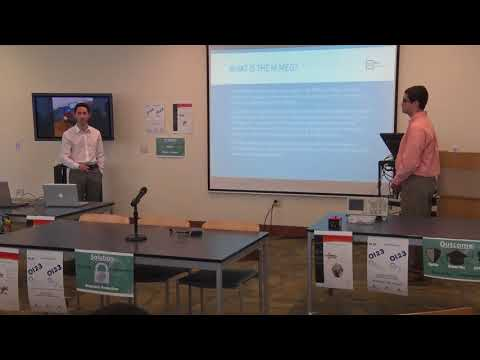 CCM 2018 Electronic Engineering Capstone Project Presentations