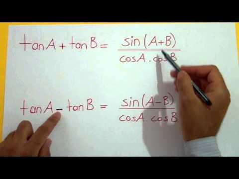 Trigonometri 13 (Dönüşüm Formülleri) Şenol Hoca Matematik