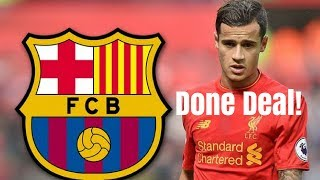 Philippe coutinho to barcelona | done ...