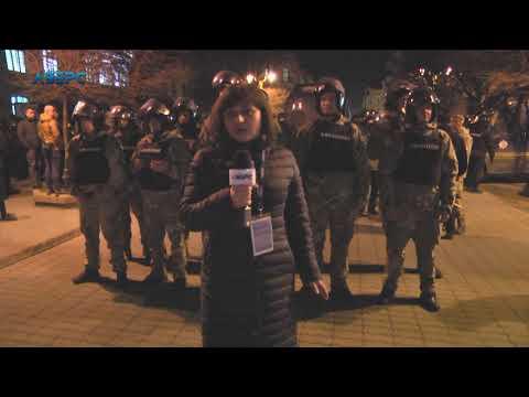 ТРК Аверс: Порошенко в Івано-Франківську:силовики й тітушки відтіснили представників Нацкорпусу