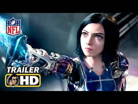 ALITA: BATTLE ANGEL Super Bowl TV Spot Trailer (2019) Sci-Fi Action Movie HD