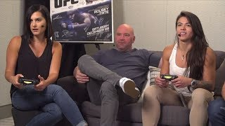EA SPORTS UFC 3 Live Stream: Claudia Gadelha vs Megan Olivi Gameplay