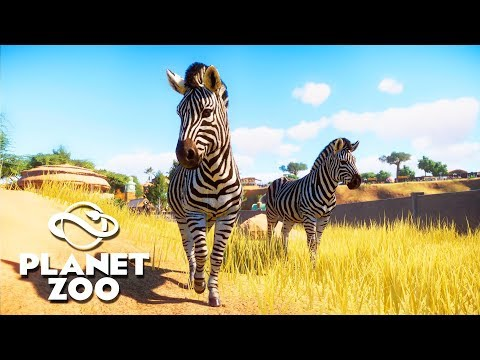 [LIVE?] Building A NEW Zoo for Exotic Animals - Planet Zoo Building Tycoon Gameplay - 동영상