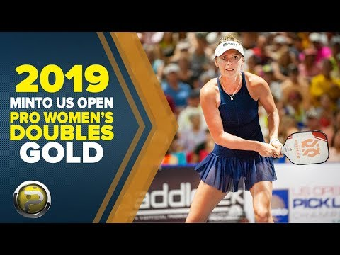 Pro Women's Doubles GOLD – 2019 Minto US Open Pickleball Championships - Aired On CBS Sports Network