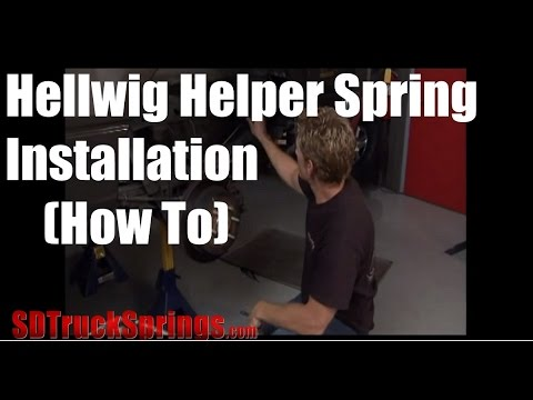 Hellwig Helper Springs Installation – How to Install Hellwig Leaf Spring Helpers Tutorial and Review