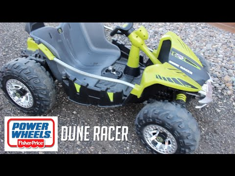 Wheels Dune Racer Green Ride On Car Atv Toy Review In Action
