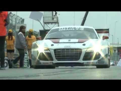 Audi R8 LMS CUP Macau GT Race Day 2012 - Edoardo Mortara