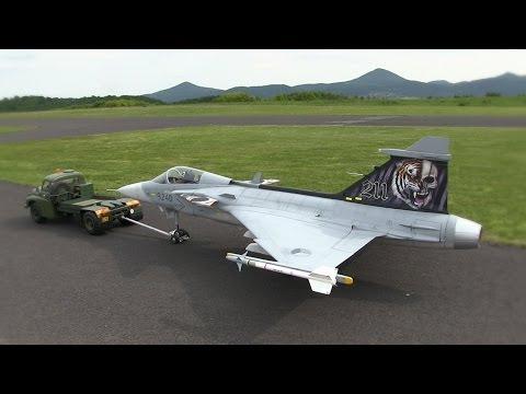 RC JAS 39 Gripen - ModelPark Suché 2015