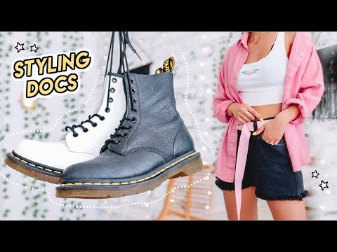 How To Style DOC MARTENS ☆ 10 Badass Summer Outfit Ideas
