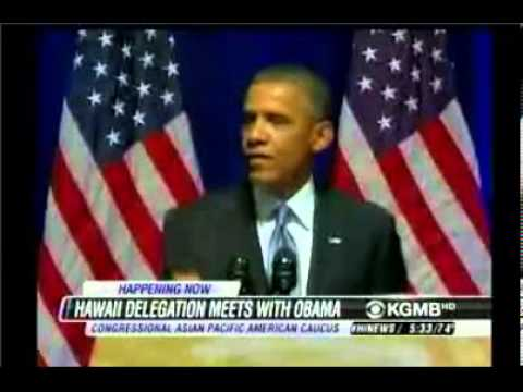 HNN - Hawaii Delegation Meets with President Obama to Discuss Native Hawaiian Recognition