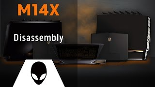 alienware m14x r1 r2 disassembly