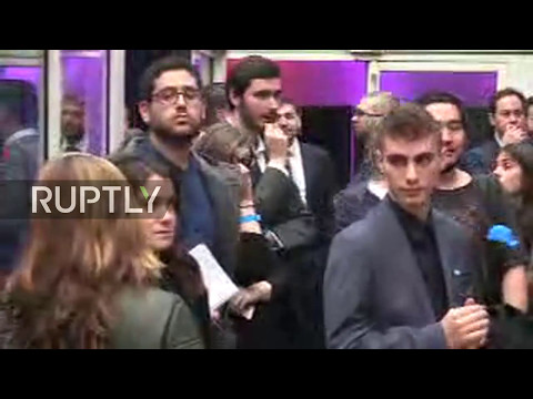 LIVE: French 2017 presidential election runoff: Reaction to results from Le Pen's HQ