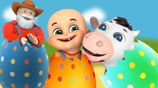Baby goes to Old MacDonald's Farm  | Kids Cartoon | + More Baby Nursery Rhymes & Kids Songs