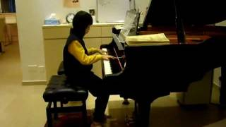 lau tin yan 9 years old played air by j hook on 20 2 2012 at michelle tang s house