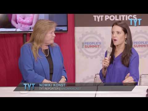 Jane Sanders Discusses The Sanders Institute With Nomiki Konst