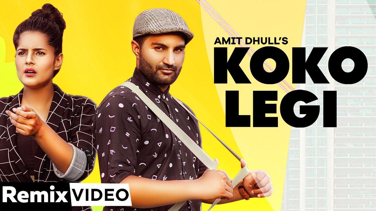 KOKO LEGI - AMIT DHULL (REMIX VIDEO) | Latest Haryanvi Song 2020 | Speed Records Haryanvi