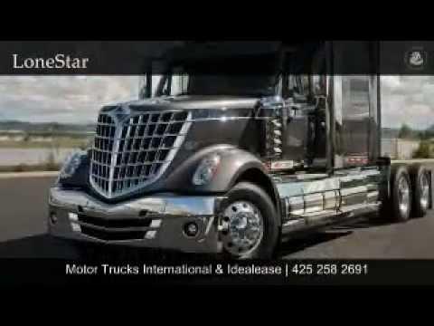 New Motor Trucks International Everett Washington Youtube