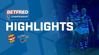 Highlights | Dewsbury Rams v Halifax Panthers