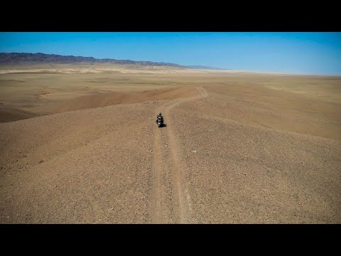 Adventure motorcycle riding Mongolia 2018