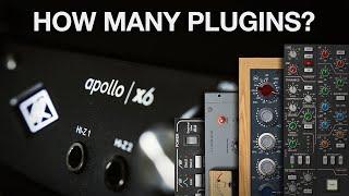 How Many Plugins Can an Apollo X6 run?