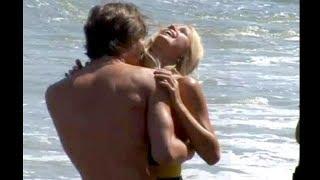 Paris Hilton Shoots Her Music Video In Malibu!!  [2006]