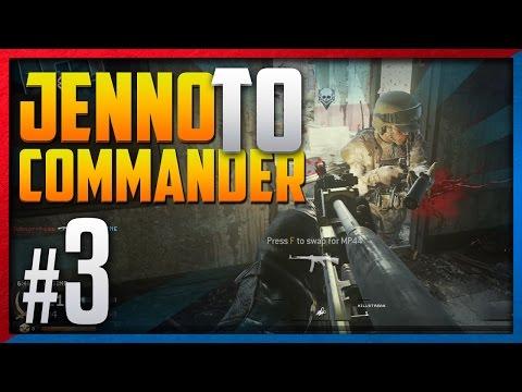 PAS PÅ BILEN!? | Jenno to Commander #3 - (Modern Warfare Remastered Dansk)