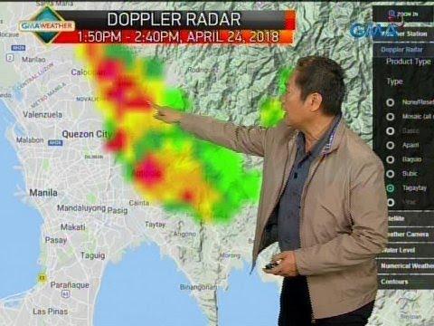24 Oras: Thunderstorm, naranasan sa ilang bahagi ng Metro Manila at karatig-probinsiya kanina