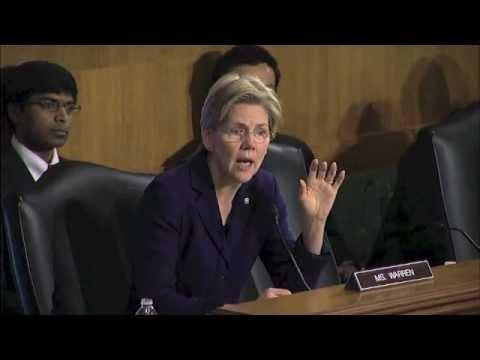 Elizabeth Warren v. Bankers (HSBC)