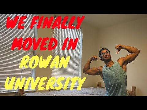COLLEGE DORM TOUR | MOVE IN DAY | ROWAN UNIVERSITY | COLLEGE STUDENT EP 1