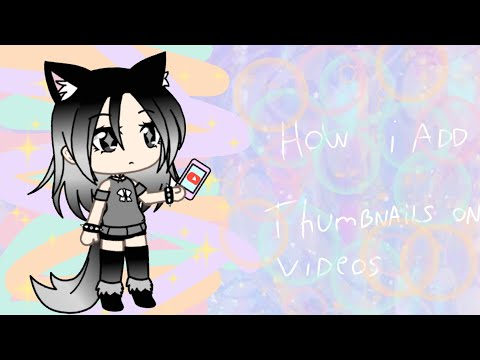 How i add thumbnail on videos