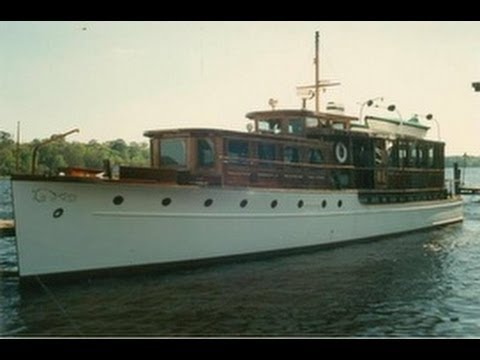 Sold 1929 classic 730 motor yacht youtube for Vintage motor yachts for sale