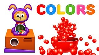 Learn Colors with Gumballs - Colors Videos Collection