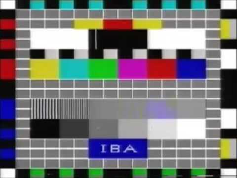 Anglia In-Vision Closedown and IBA Testcard Junction (1983)