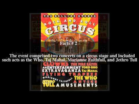 The Rolling Stones Rock and Roll Circus Top # 5 Facts