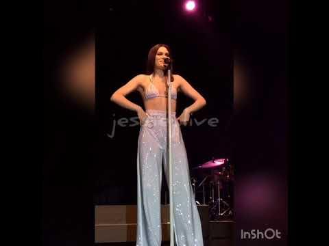 "Jessie J ""Petty"" In Bournemouth"