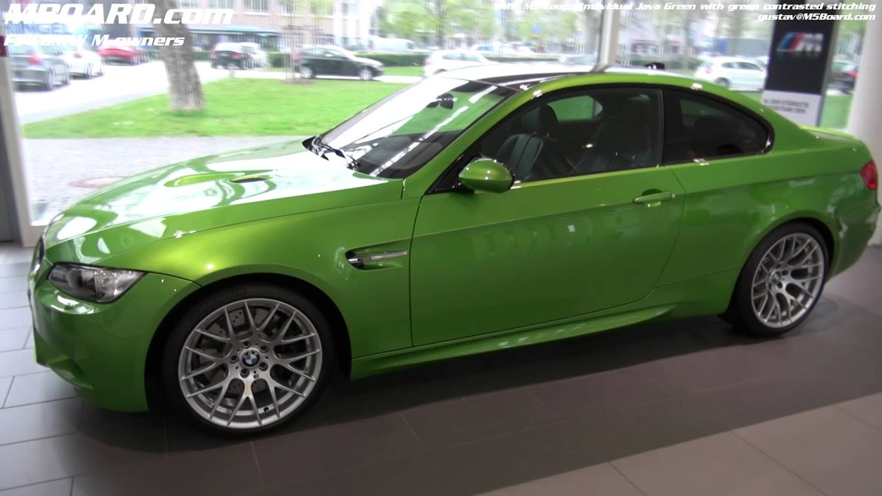 bmw m3 coupe green - photo #29