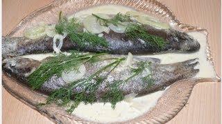 Рецепт - Форель запеченная в духовке от videokulinaria.ru