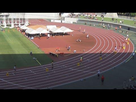 2016全国高校総体 男子400m予選~決勝