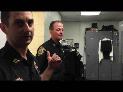 Wilton Police Station Tour