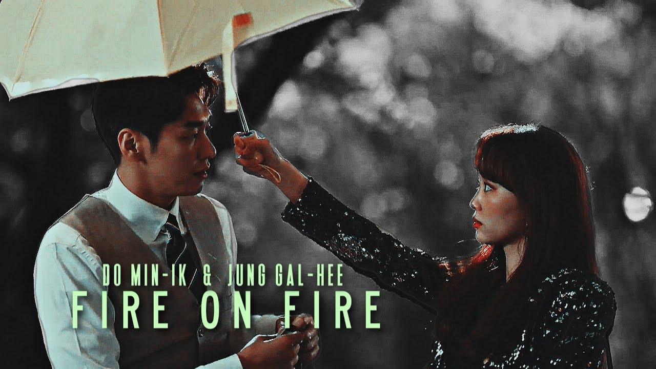 Do Min Ik & Jung Gal Hee (MV) - Fire on fire [The secret life of my secretary]