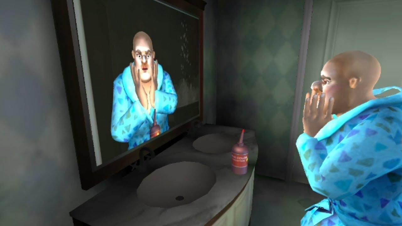 مقلب الشامبو بالمعلمة الشريرة ، صارت صلعا 😨😂 scary teacher 3D